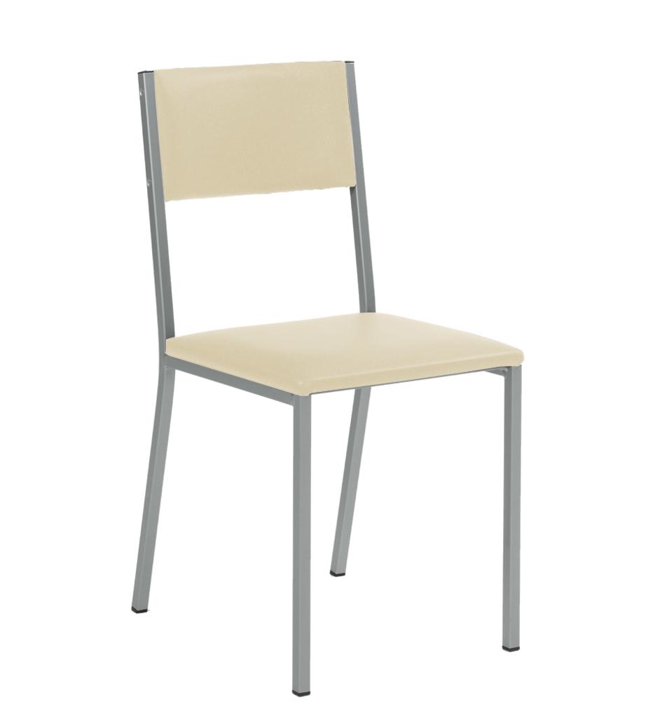 Sienna 1, Stuhl, Gestell edelstahlfbg., Bezug beige