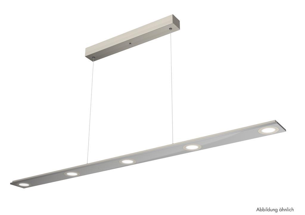 Cavo lang LED, Pendelleuchte, weiß, L 1200 mm, 5 x 4 W