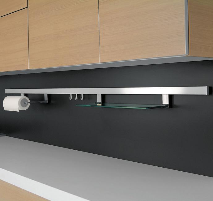 Alto Set, Relingsystem, L 600 mm, edelstahlfarbig