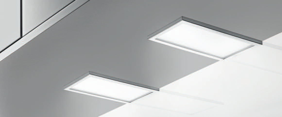 Piatto LED, Unterboden-/Nischenleuchte, Set-2, 4000 K neutralweiß