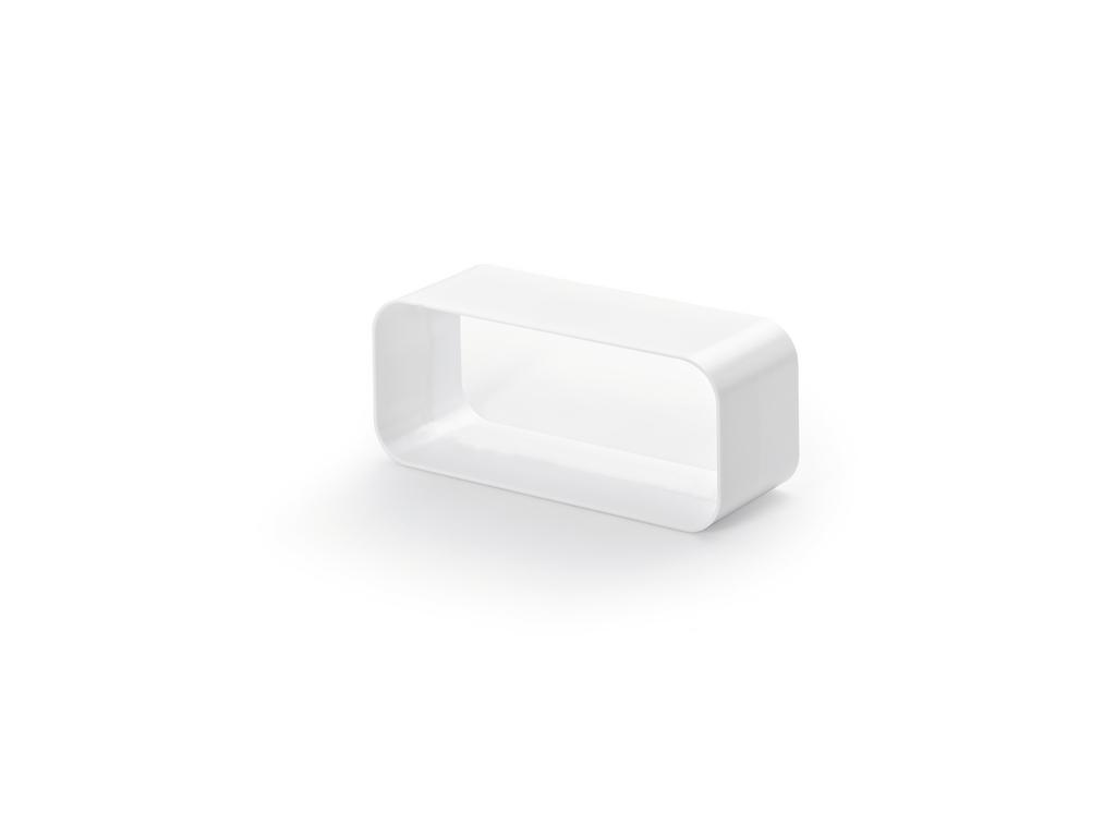 F-VBS 150 Rohrbogenverbinder, Abluftzubehör, weiß