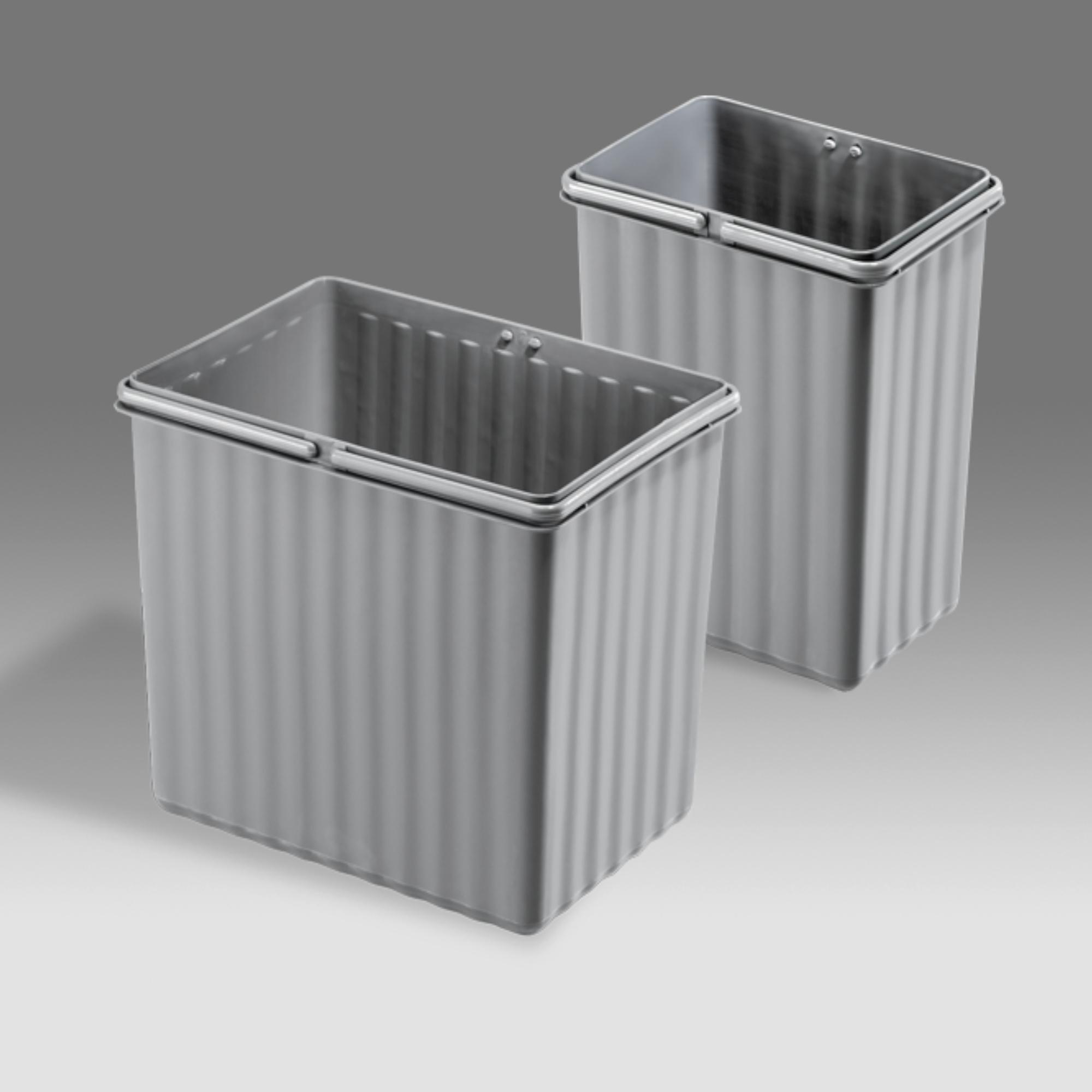 WESCO Einsatz 7,5 Liter Alugrau zu Wesco Pullboy Flex