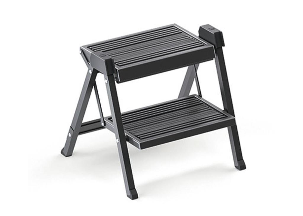 Stepfix, Küchenleiter, Aluminium schwarz