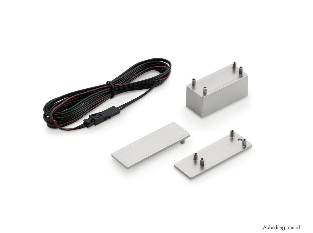 Prova 90° Verbindungseckelement, Verbindungsleitung/-element, schwarz