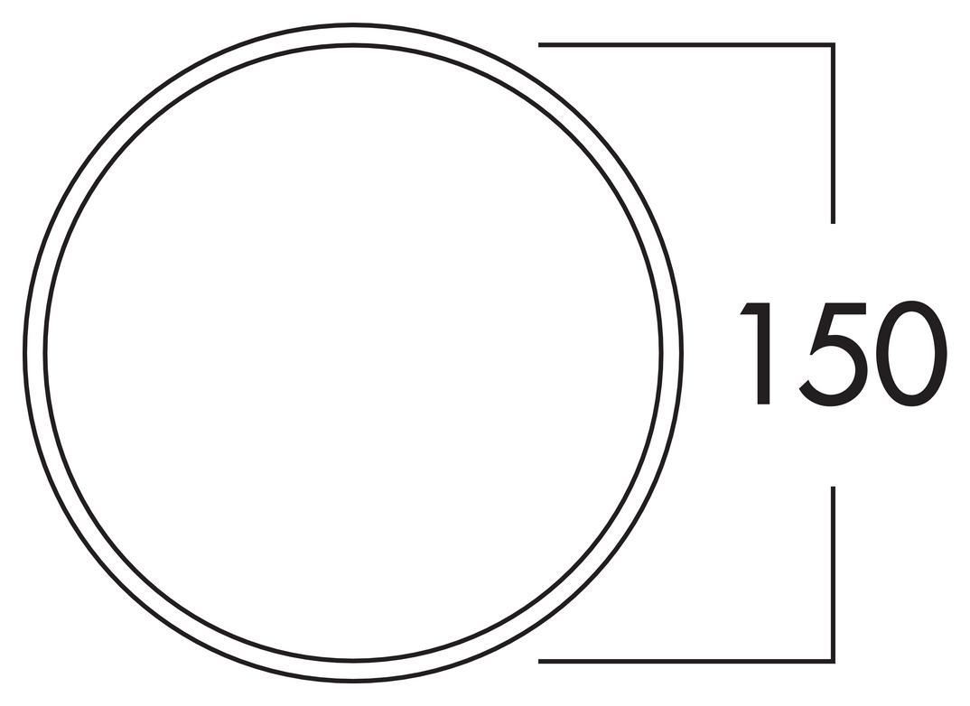 E-Jal 150 Mauerkasten inkl. THERMOBOX, weiß, Edelstahl