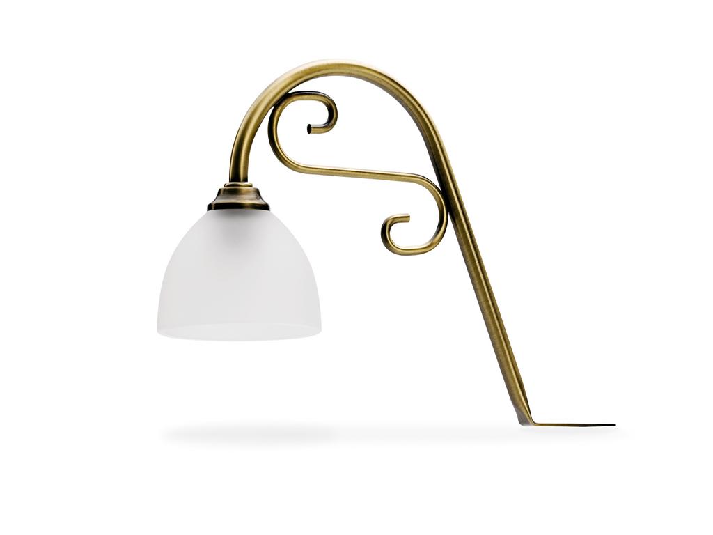 Flora LED, Decken-/Oberboden-/Kücheninselleuchte, altmessing