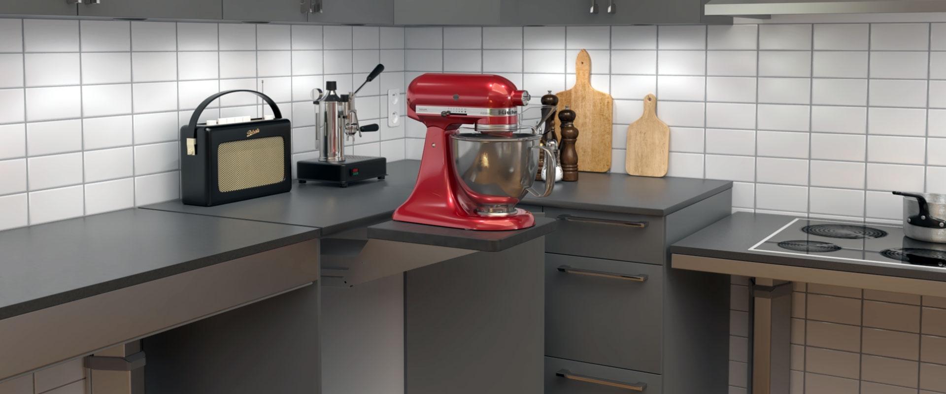 Unilift - Der Lift für Ihre Küchenmaschine