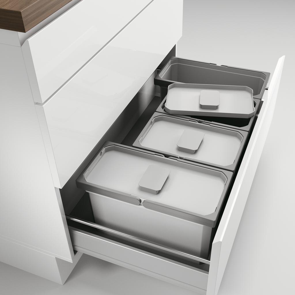 Cox® Box 220/900-4, Schrankausstattung, hellgrau