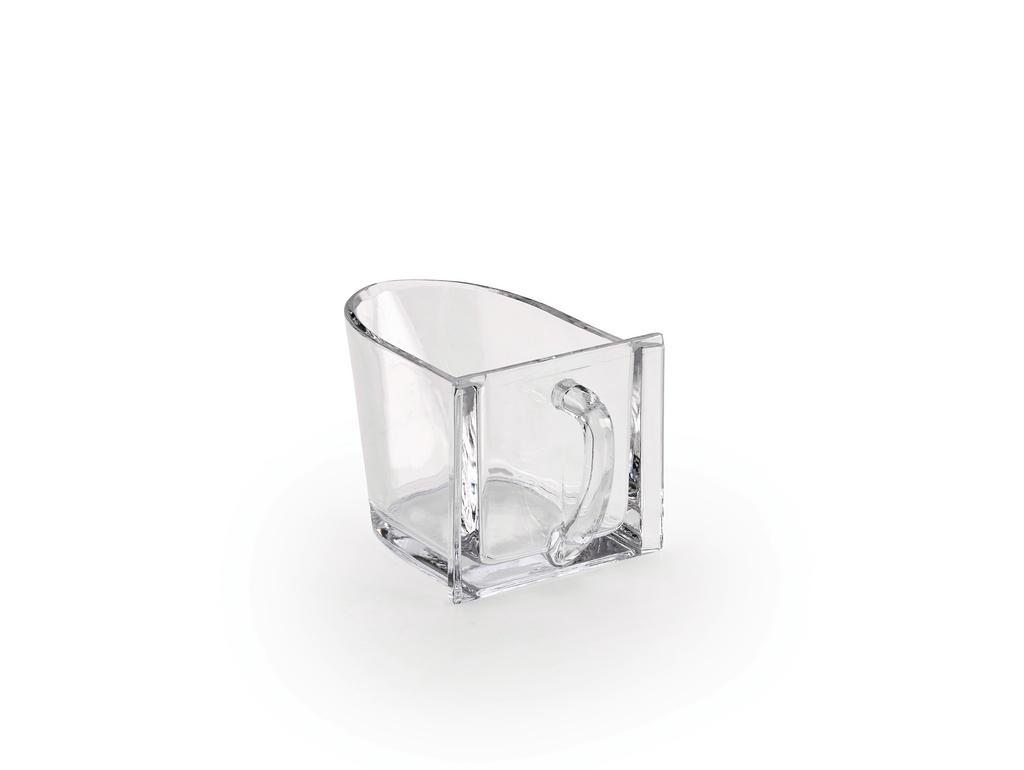 Bleikristallschütte 1, Schütte, glatt, glasklar