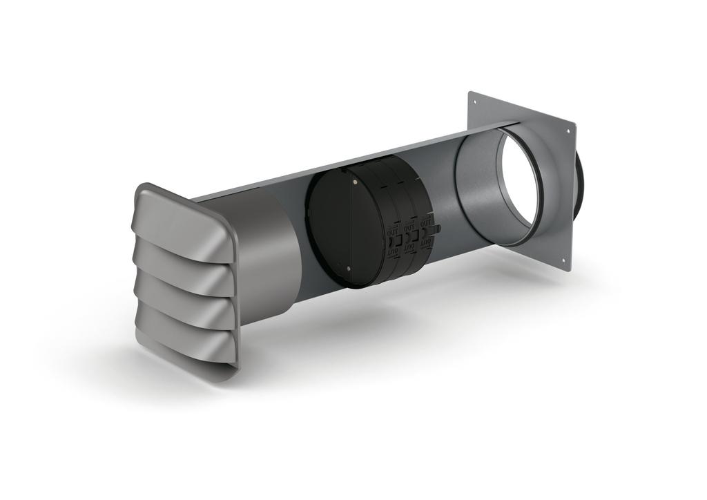 SF-E-Jal Col® 150 Mauerkasten inkl. THERMOBOX, verzinkter Stahl, Edelstahl