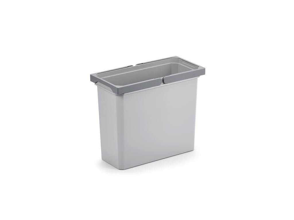 Ersatzeimer, hellgrau, 16 Liter