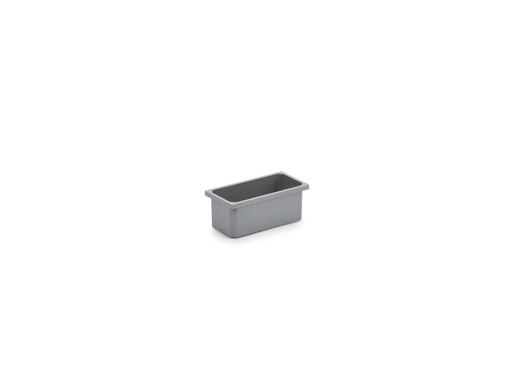 Aufbewahrungsbox, dunkelgrau, 1,2 Liter
