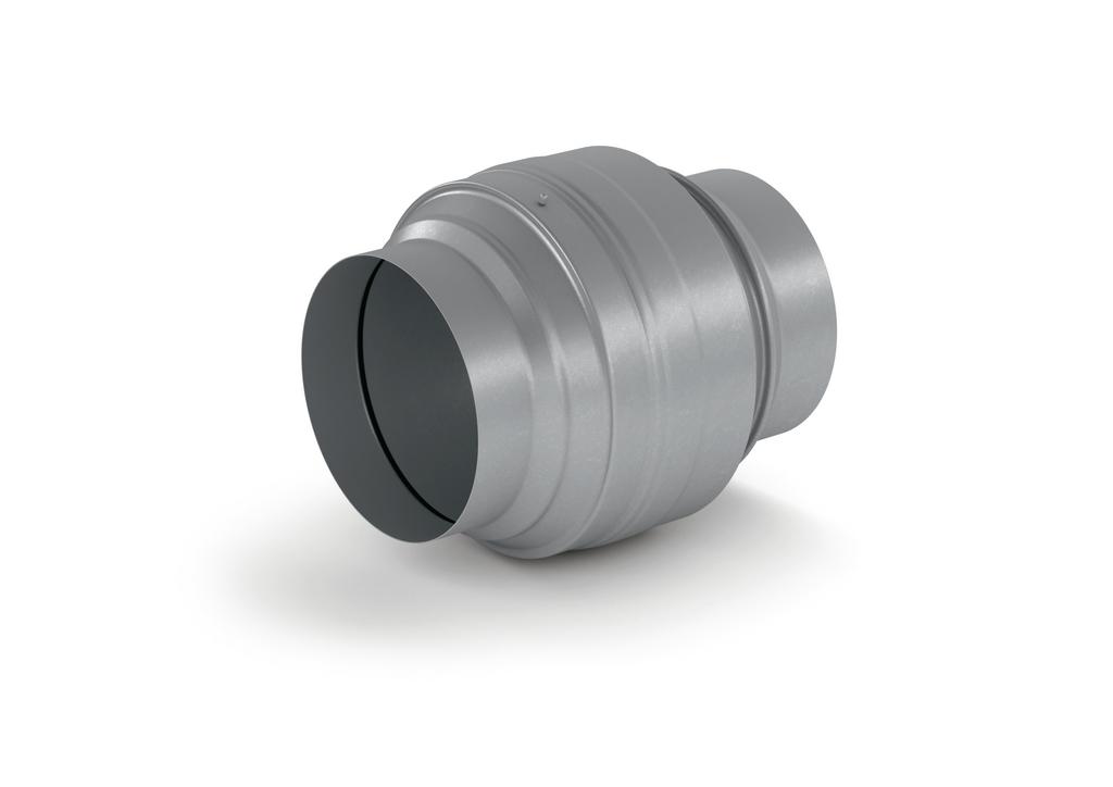 Absperrvorrichtung/Brandschutzklappe 150, Abluftzubehör, verzinkter Stahl