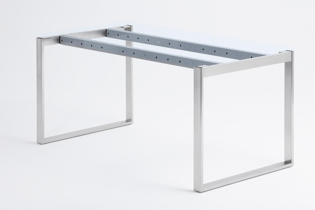 Essere Tischgestell, Edelstahl