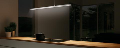 Asta LED, Pendelleuchte, L 900 mm, 13,9 W