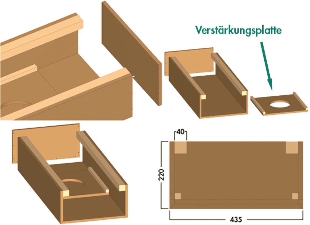 COMPAIR® Abluftverkleidung Insellösung, Abluftzubehör, U-Form