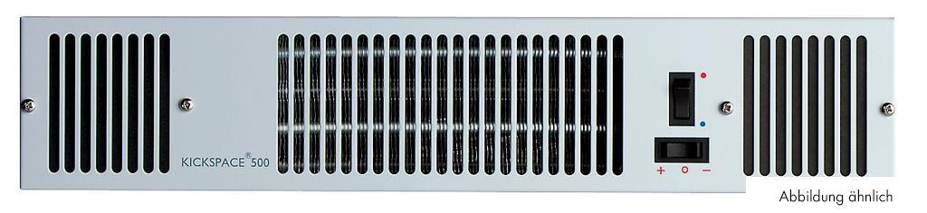 Blende KS 600, für Sockelheizung KS 600edelstahlfarbig, B 550 mm