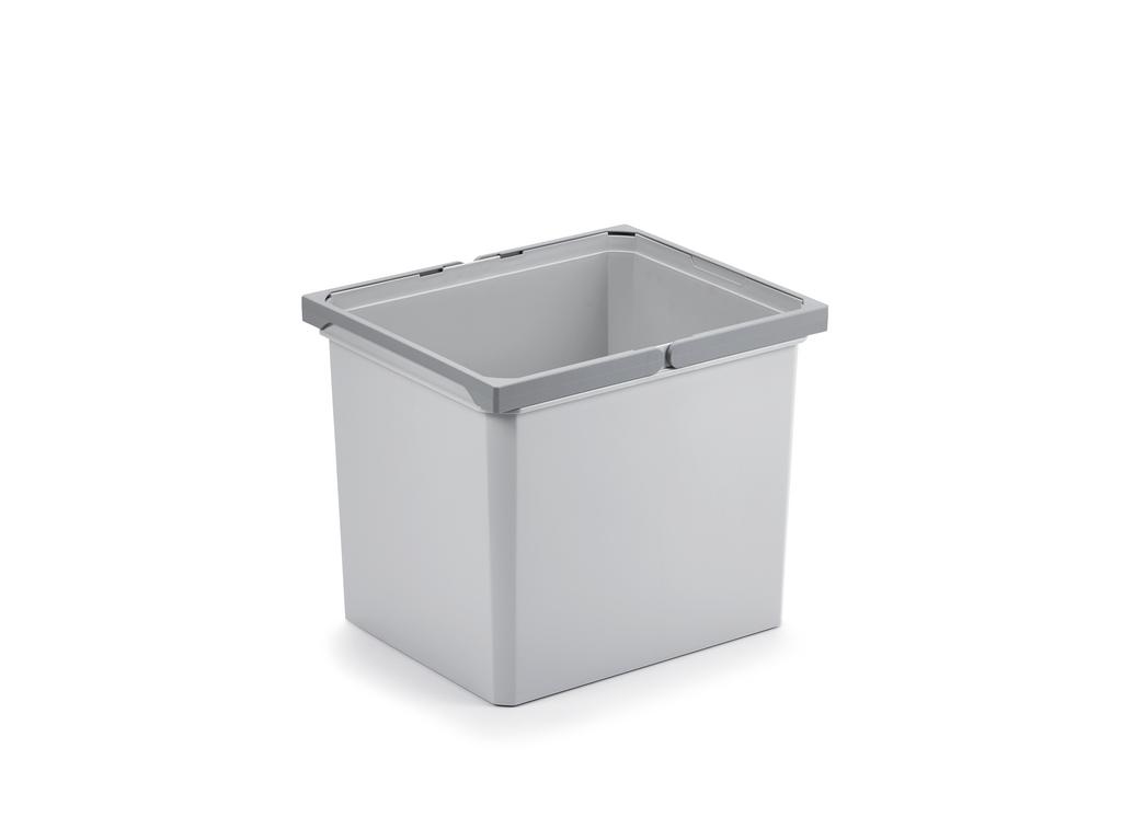 Ersatzeimer, hellgrau, 29 Liter