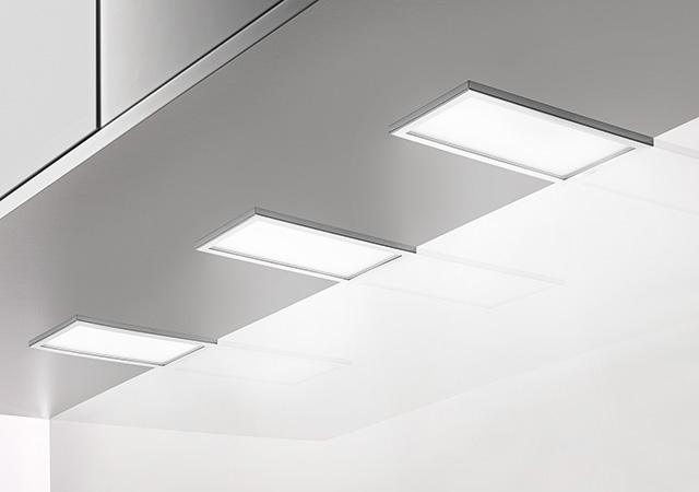 Piatto LED, Unterboden-/Nischenleuchte, Set-3, 3000 K warmweiß