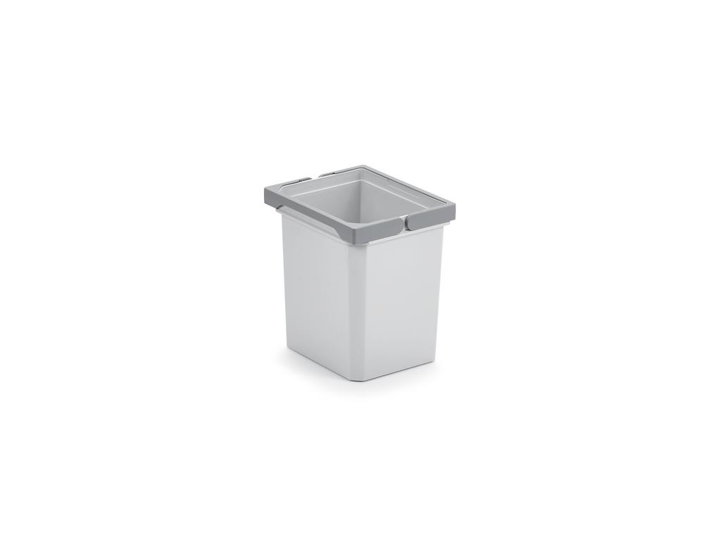 Ersatzeimer, hellgrau, 7 Liter