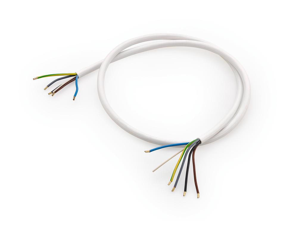 Anschlussleitung 2, Herdkabel, L 1500 mm, 5 x 1,5 mm²
