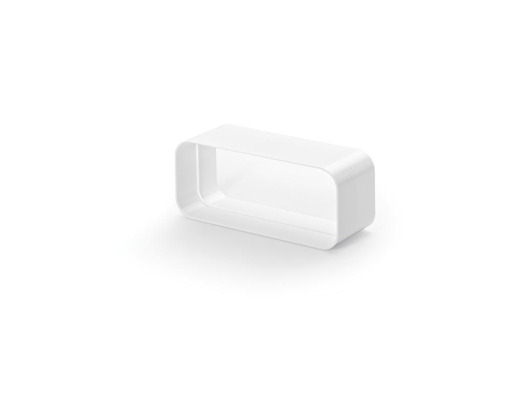 F-RVB 150 Rohrverbinder, Verbindungselement, weiß
