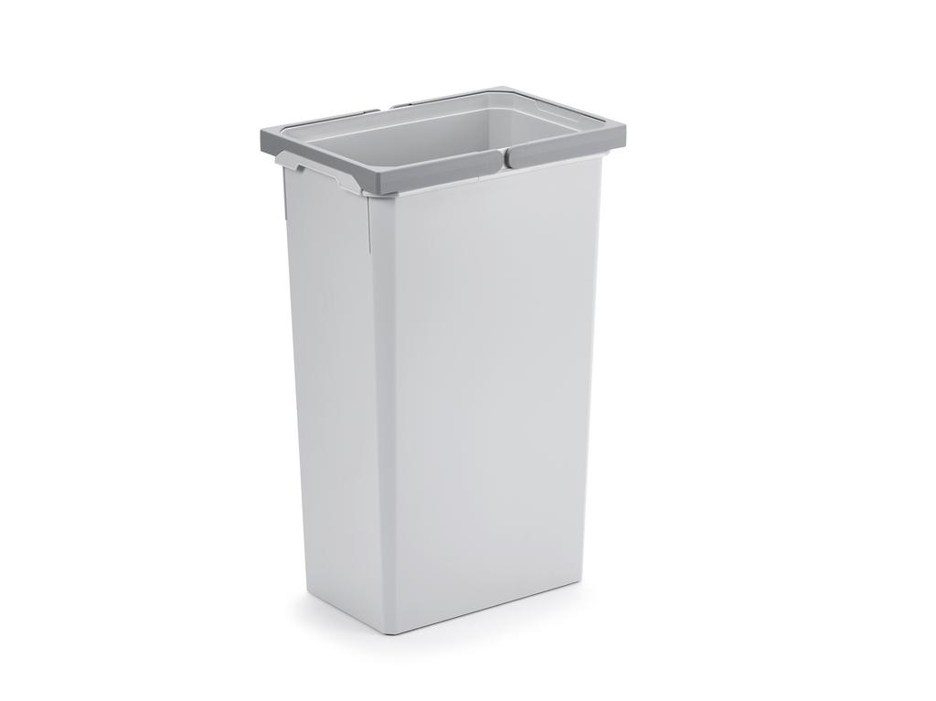 Ersatzeimer, Abfallsammler für Frontauszüge, hellgrau, 32 Liter