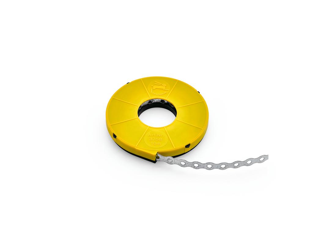 Lochband, Montageband, verzinkter Stahl