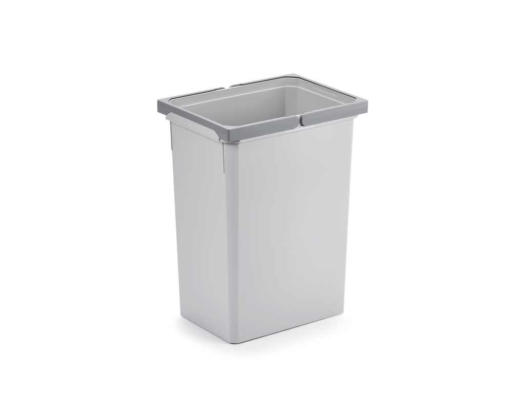 Ersatzeimer, Abfallsammler für Frontauszüge, hellgrau, 29,5 Liter