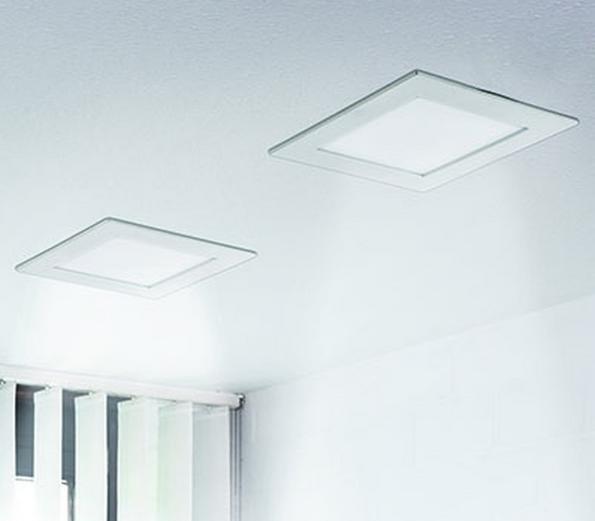 Palladio LED, Einbauleuchte, weiß