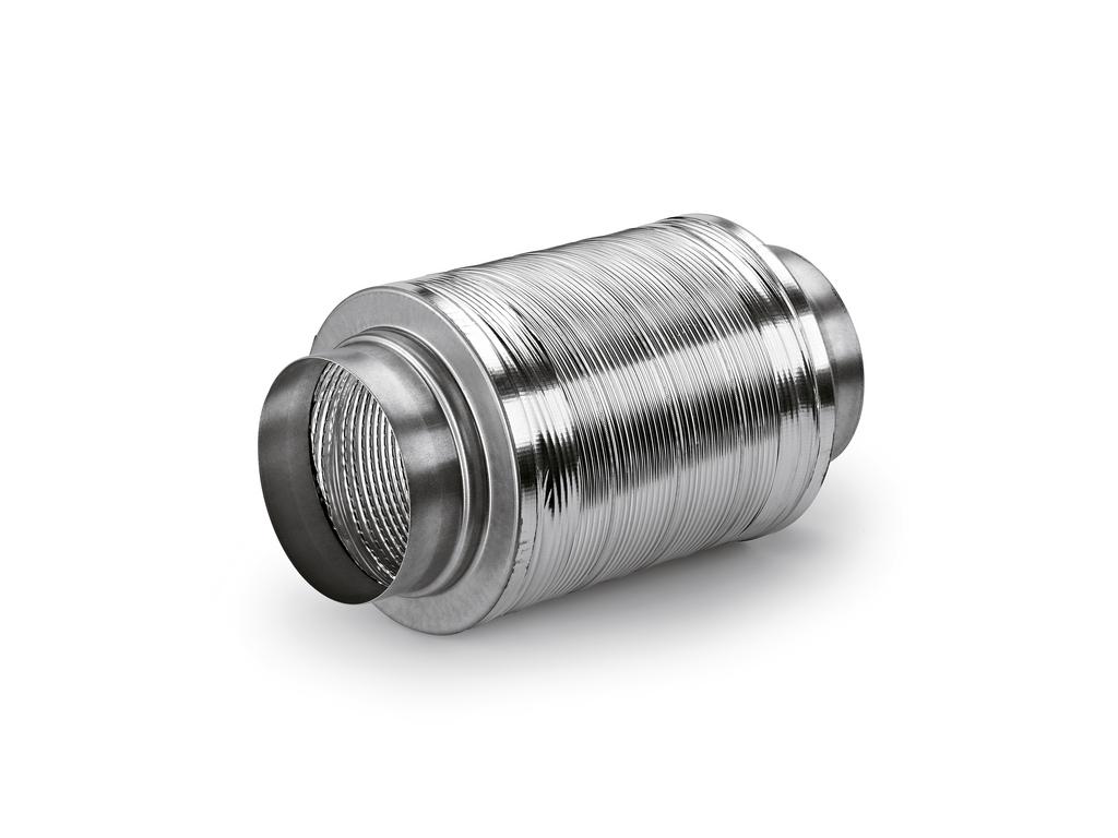 Schalldämpfer 150, Abluftzubehör, Ø 150 mm, L 460 mm