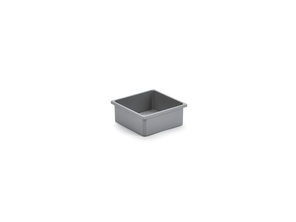 Aufbewahrungsbox, dunkelgrau, 2,7 Liter