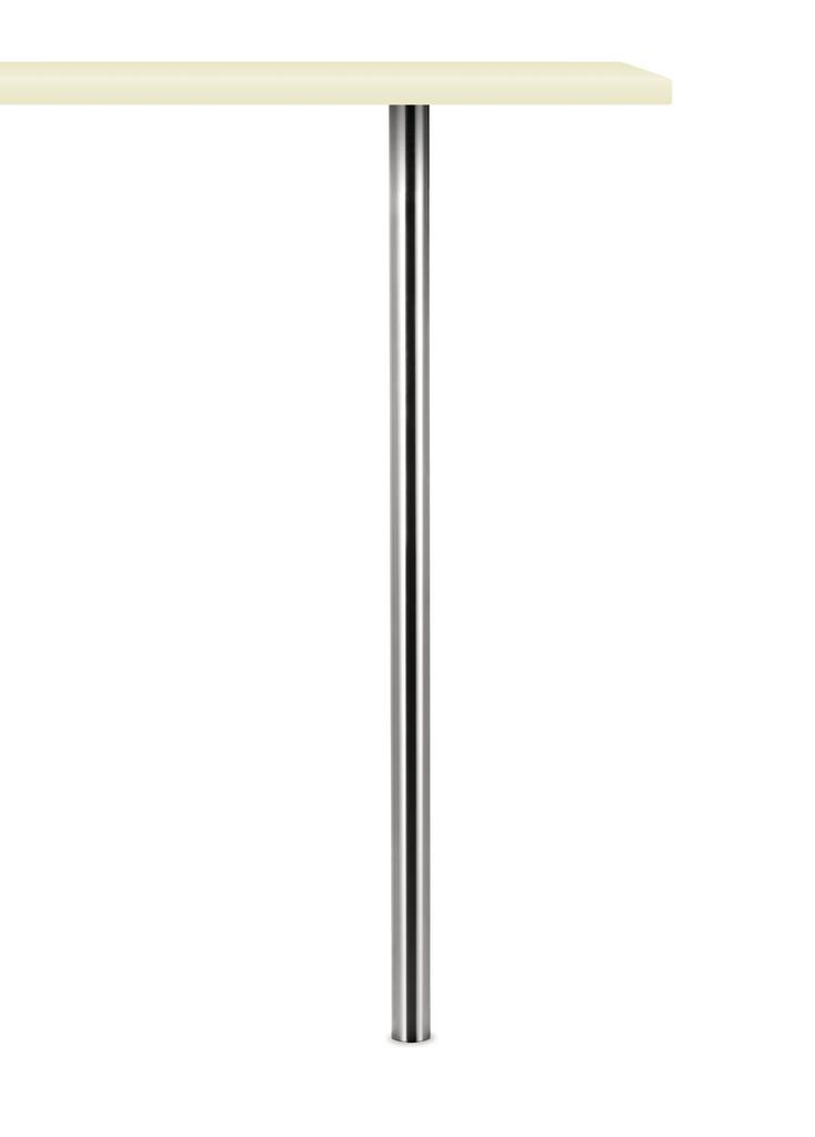 Colonna, Stützfuß, Edelstahl, H 1055 mm