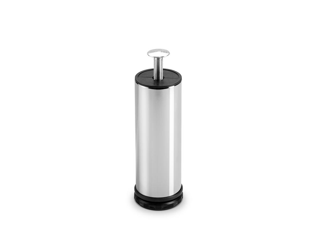 Cosa 2, Sockelfuß, chrom poliert, H 150 mm