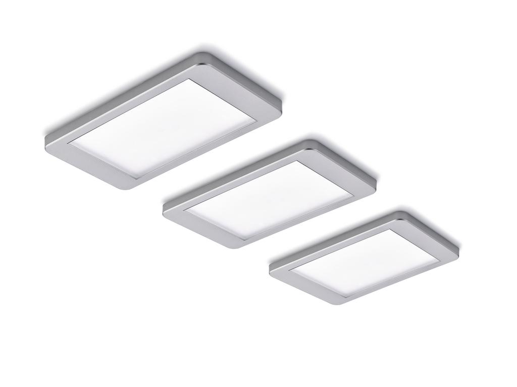 Hull Farbwechsel LED, Unterboden-/Nischenleuchte, Set-3
