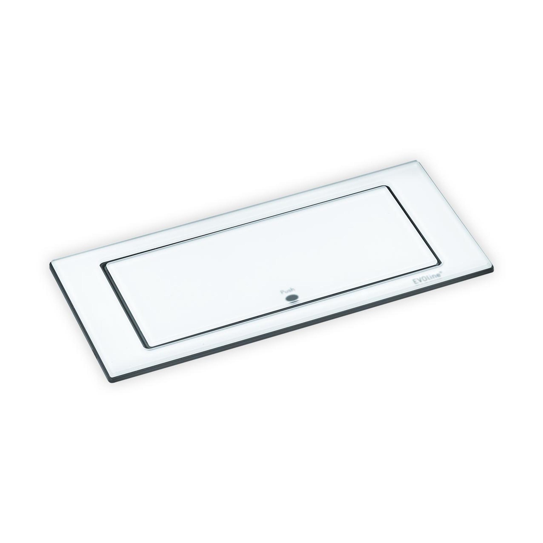 Glas weiß