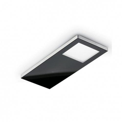 Vetro LED, Unterboden-/Nischenleuchte, Set-3, schwarz