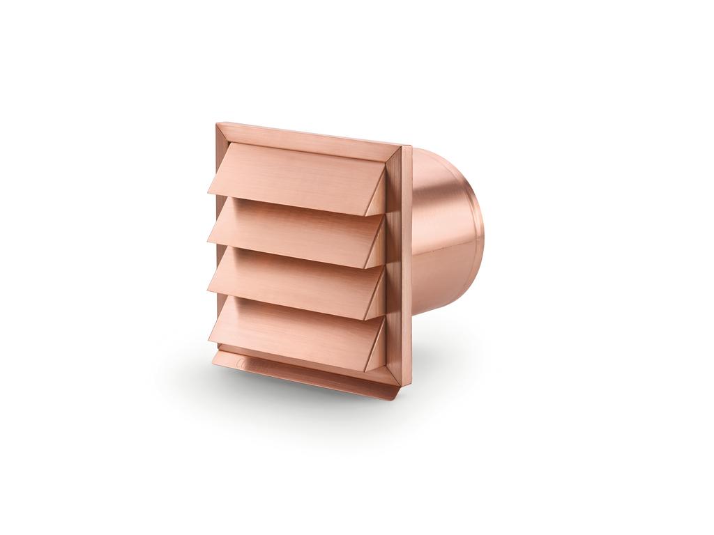 C-Jal 150 Außenjalousie, Kupfer, Ø 150 a mm