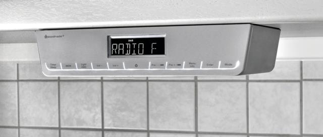 Küchenunterbauradio UR2016SI mit Superausstattung