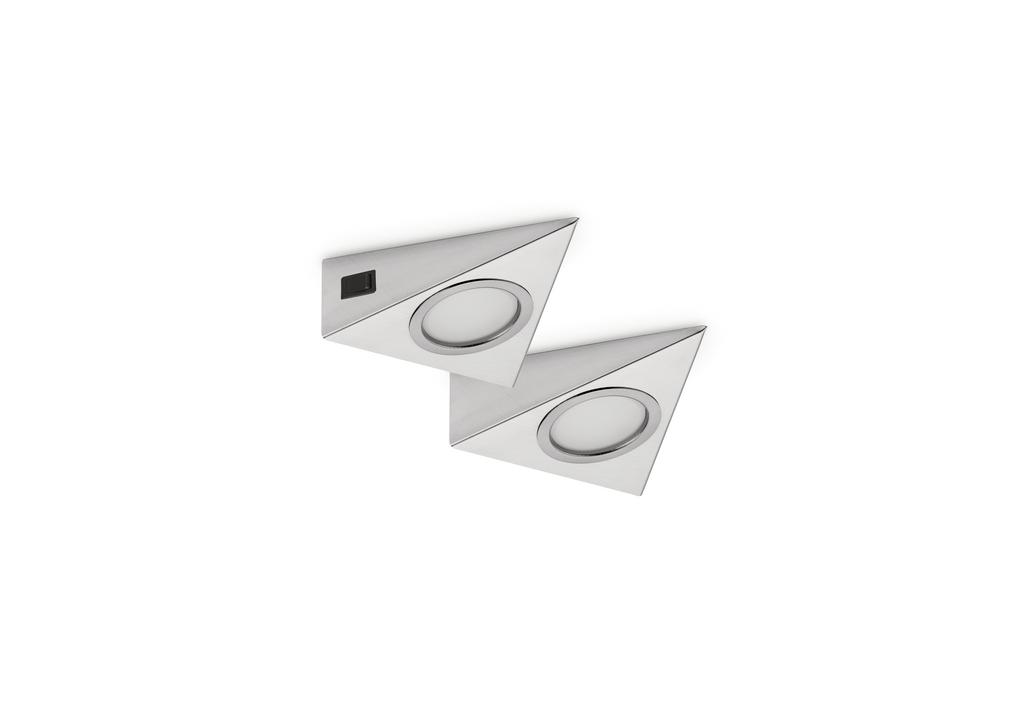 Razzo 1 LED, Unterboden-/Nischenleuchte, Set-2