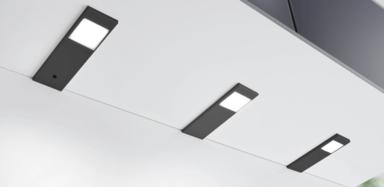 Unterbauleuchten-Set Tadeo 1 schwarz