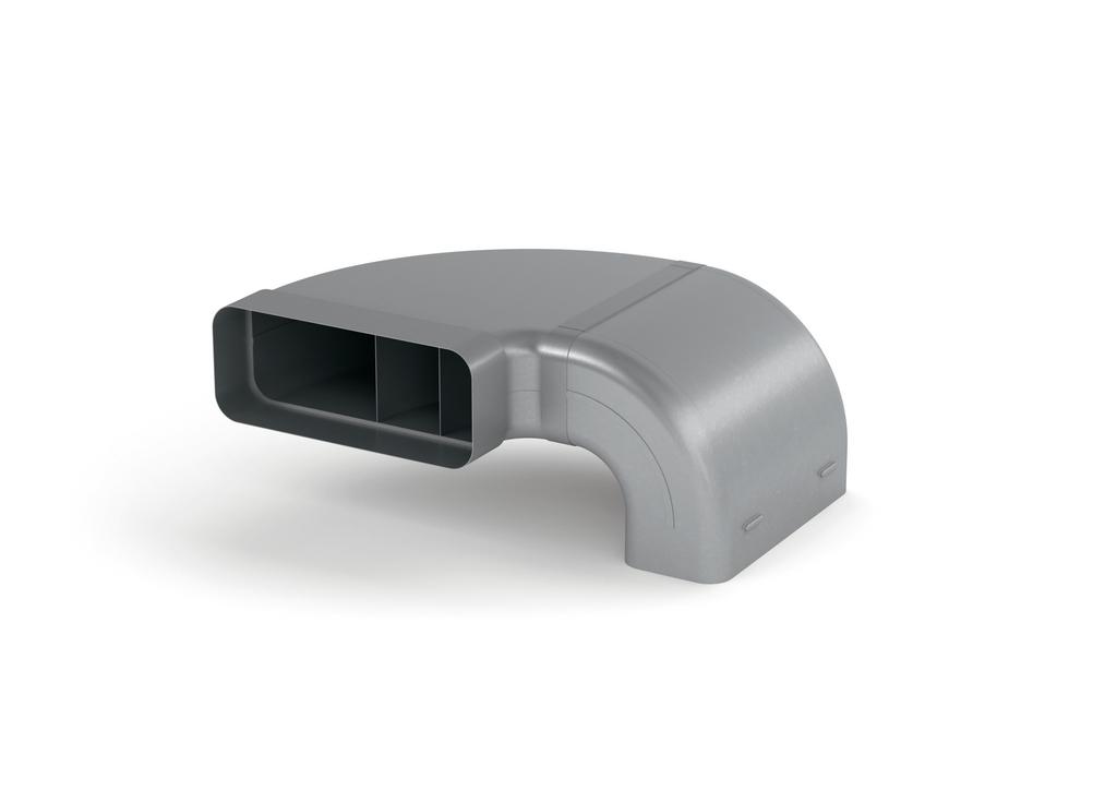 SF 150 Rohrset für Muldenlüfter, Verbindungselement, verzinkter Stahl