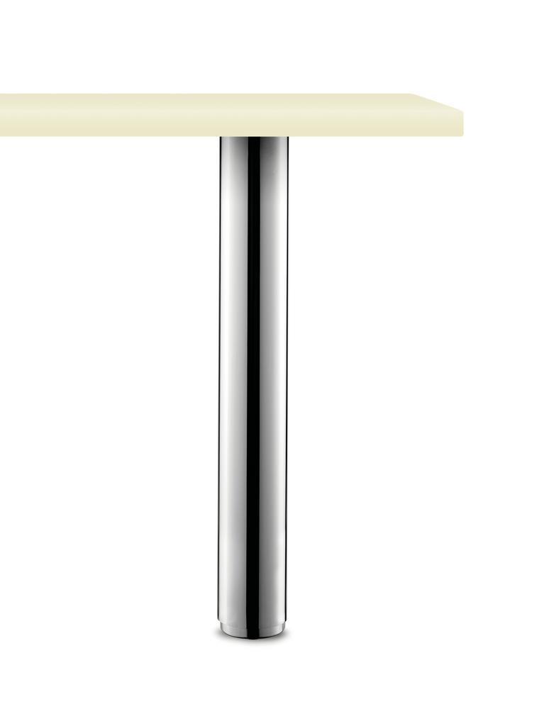 Standard 10/72, Stützfuß, chrom poliert