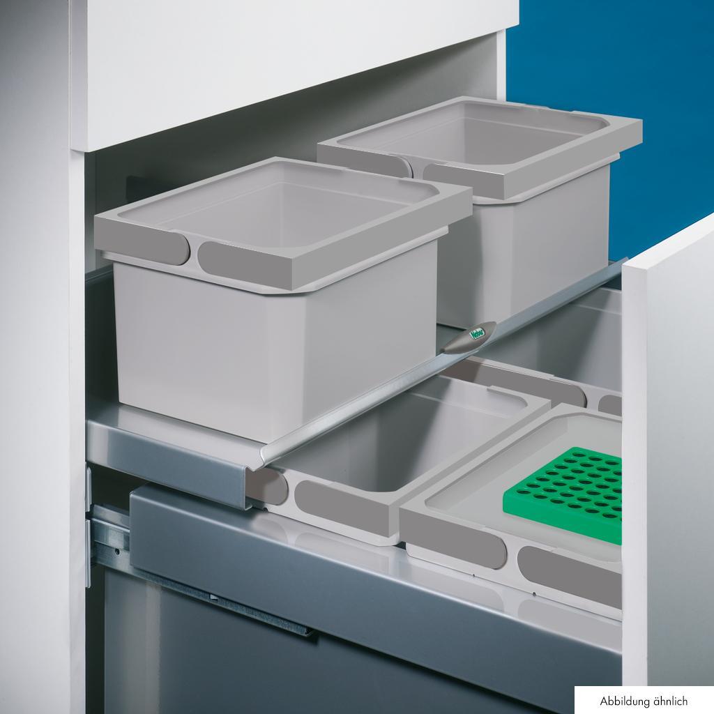 Cox® Base Einzeleimer, Abfallsammler für Frontauszüge, anthrazit