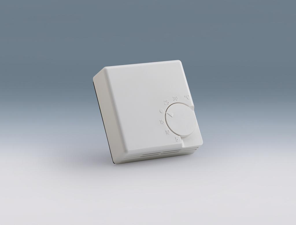 Raumthermostat 230 V, weiß