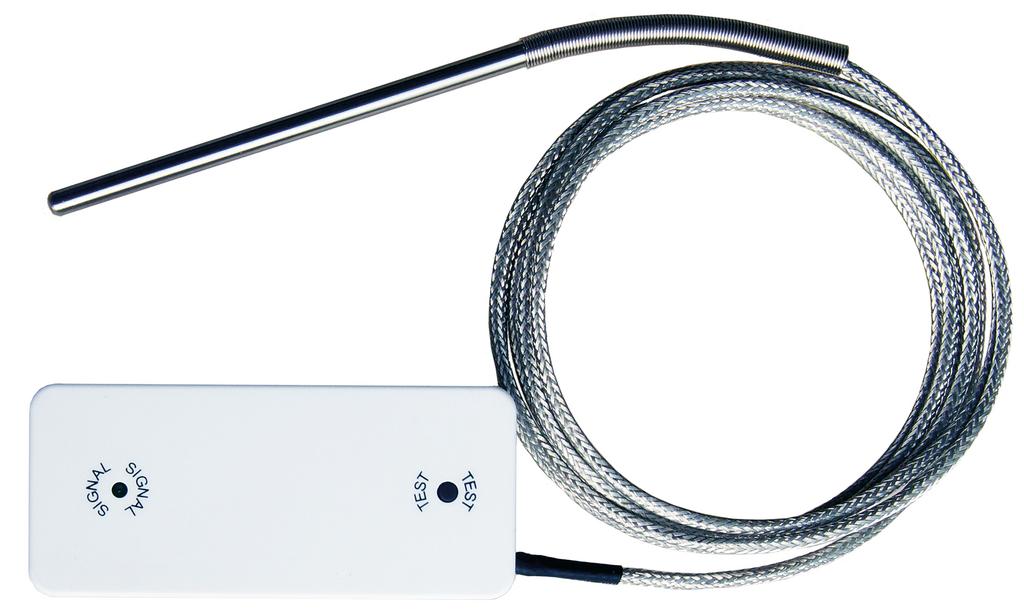 Funk-Temperatursensor, Abluftzubehör, weiß