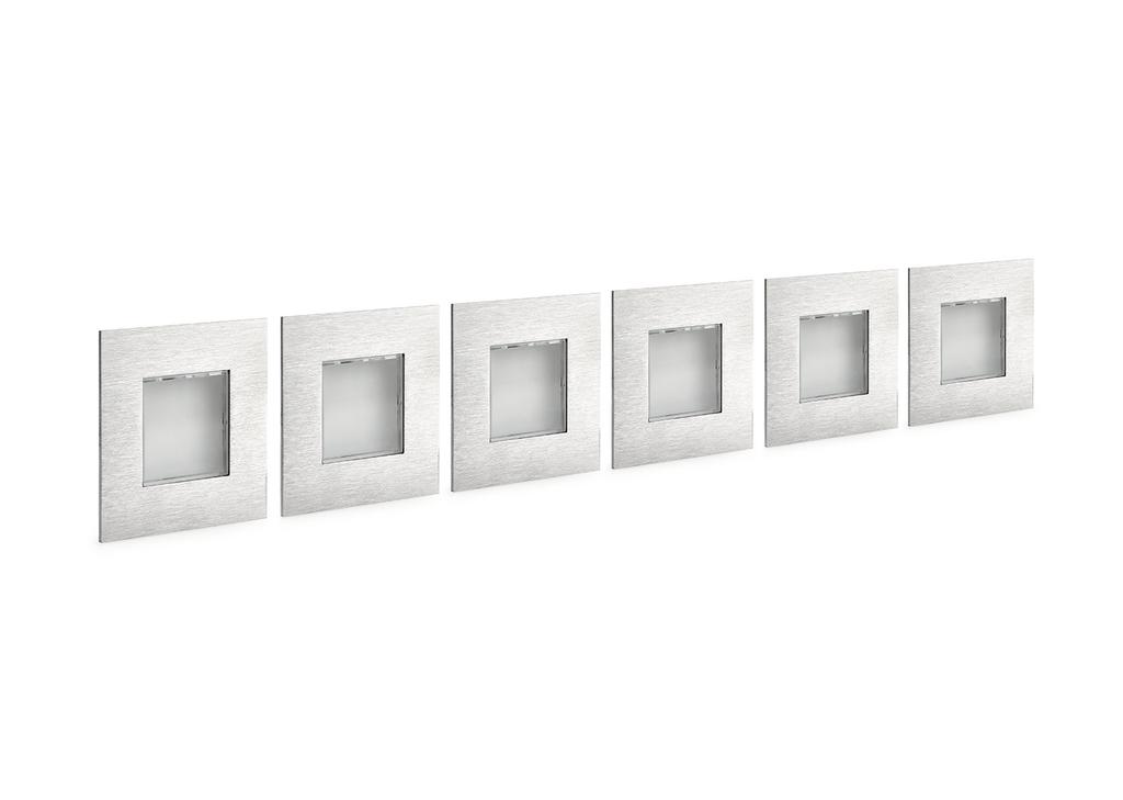 Cosi Farbwechsel LED, Einbauleuchte, Set-6