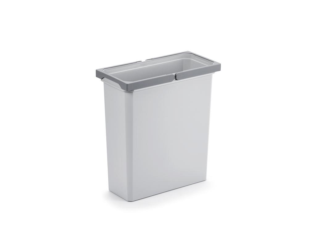 Ersatzeimer, Abfallsammler für Frontauszüge, hellgrau, 21 Liter