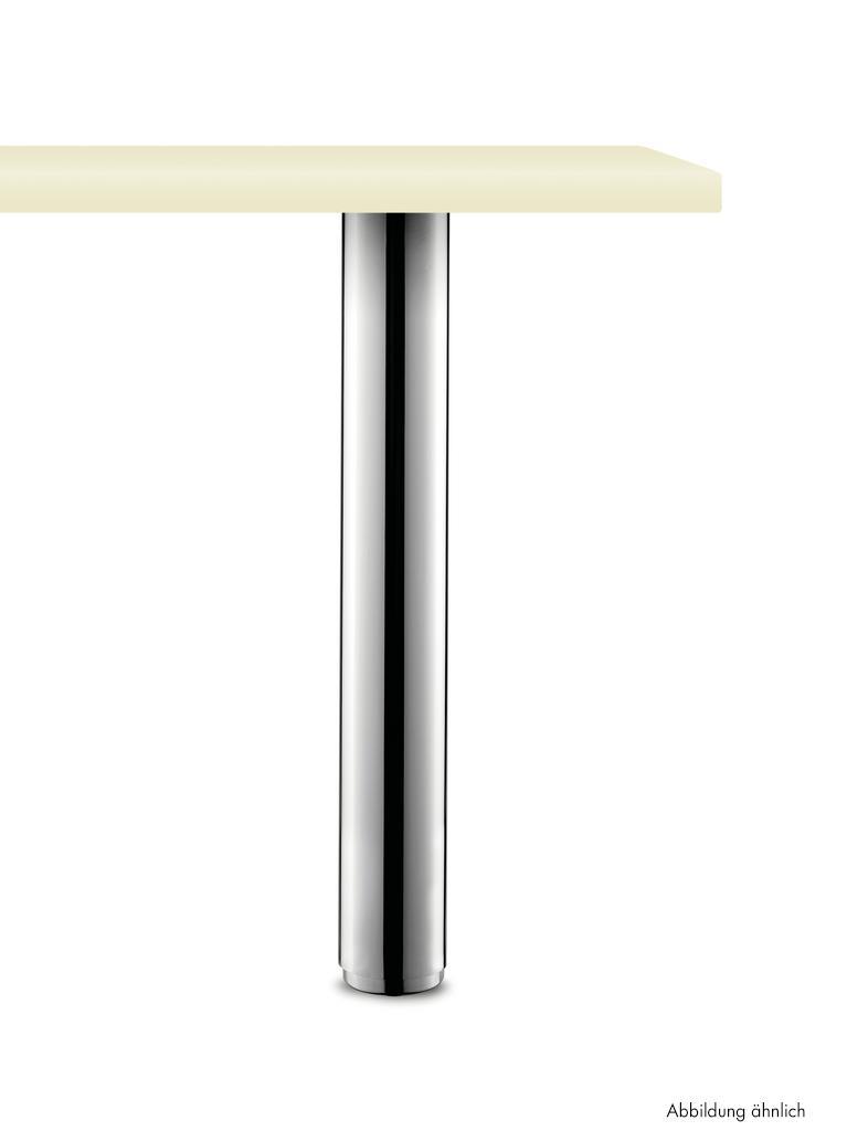 Standard 10/72, Stützfuß, edelstahlfarbig