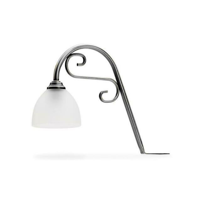 Flora LED, Decken-/Oberboden-/Kücheninselleuchte, altsilber